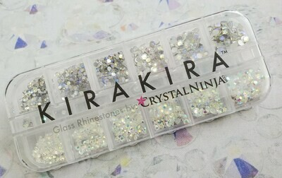 KiraKira Assortment Box2: Starry AB & Transparent AB