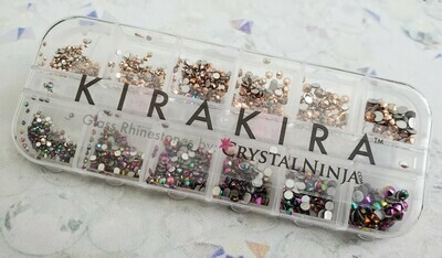 KiraKira Assortment Box3: Rainbow Rose & Rose Gold