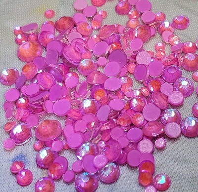 KiraKira Luminous Dark Pink Small Mix
