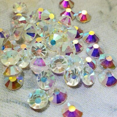 Transparent AB - KiraKira Glass Rhinestones by CrystalNinja