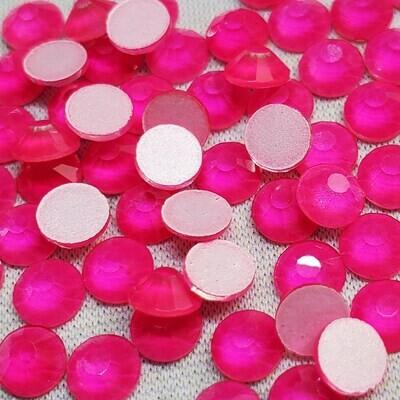 Neon Rose - KiraKira Glass Rhinestones by CrystalNinja