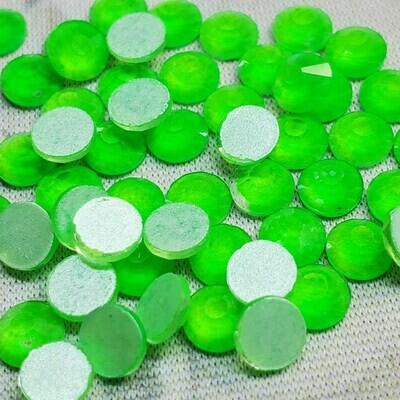 Neon Green - KiraKira Glass Rhinestones by CrystalNinja
