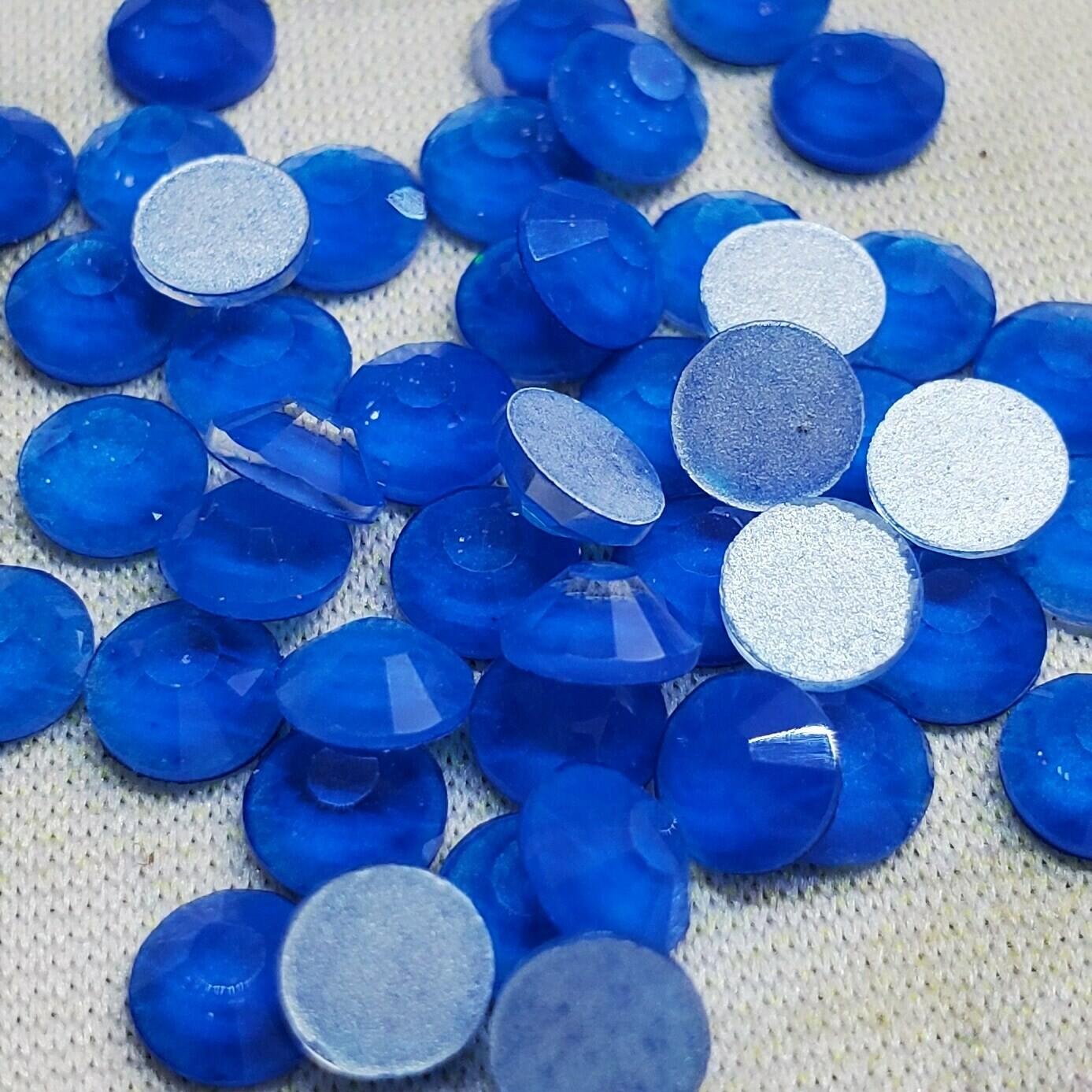 Neon Blue - KiraKira Glass Rhinestones by CrystalNinja