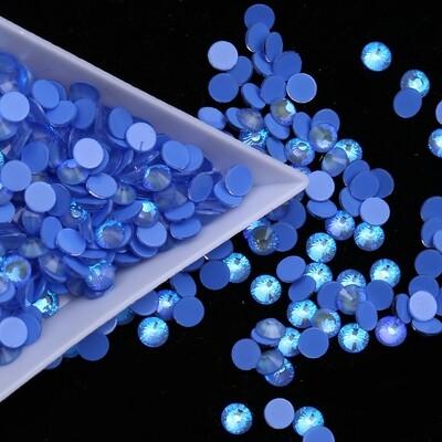 Mocca Sapphire AB  - KiraKira Glass Rhinestones by CrystalNinja