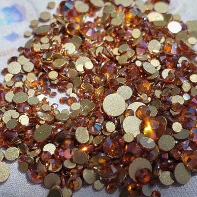Amber - KiraKira Glass Rhinestones by CrystalNinja