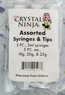 Assorted Tips & Syringes