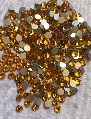Topaz - KiraKira Glass Rhinestones by CrystalNinja