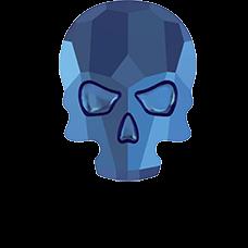 #2856 CRYSTAL MET.BLUE F