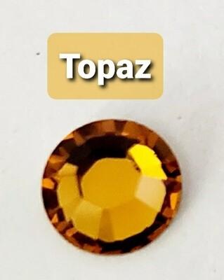 #2028 ss34, 144pc. Topaz Swarovski Non HotFix