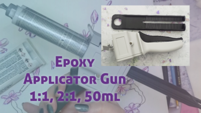 Epoxy Applicator Device, 1:1, 2:1