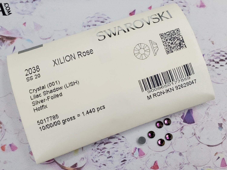 2038 HF ss20 Crystal Lilac Shadow Swarovski