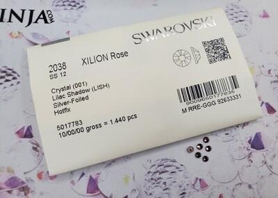 2038 HF ss12 Crystal Lilac Shadow Swarovski