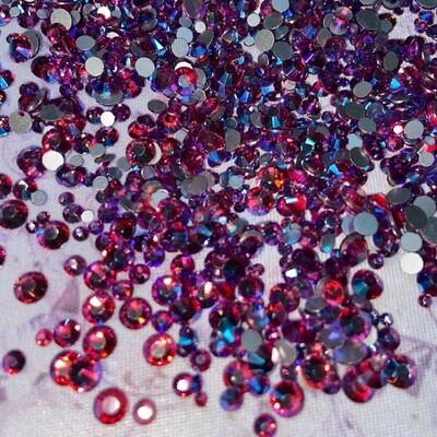 Fuchsia AB - KiraKira Glass Rhinestones by CrystalNinja