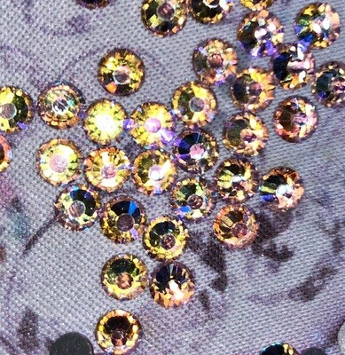 Light Rose AB - KiraKira Glass Rhinestones by CrystalNinja