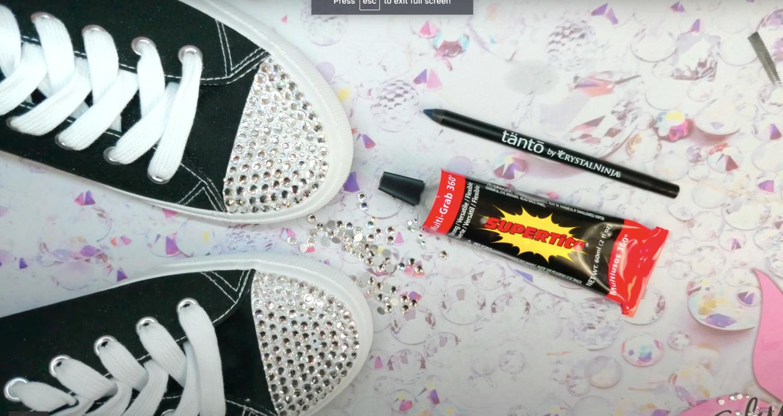 KiraKira Rhinestone Sneaker Kit