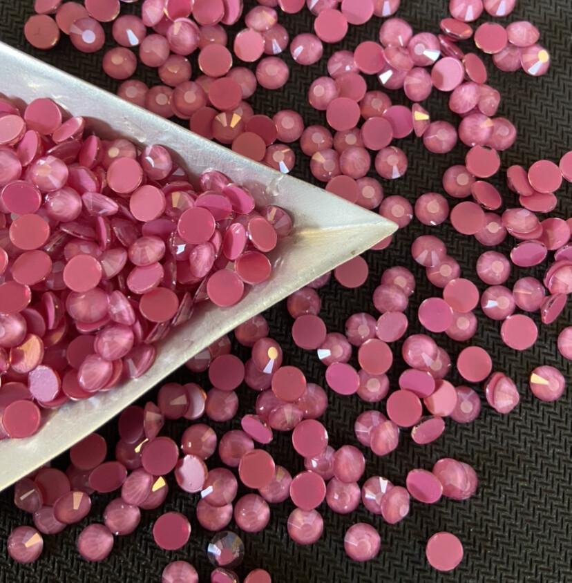 Mocca Dark Pink - KiraKira Glass Rhinestones by CrystalNinja