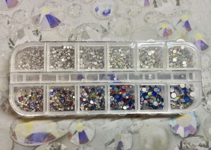 KiraKira Assortment Box7: Clear & Clear AB & Multicolor