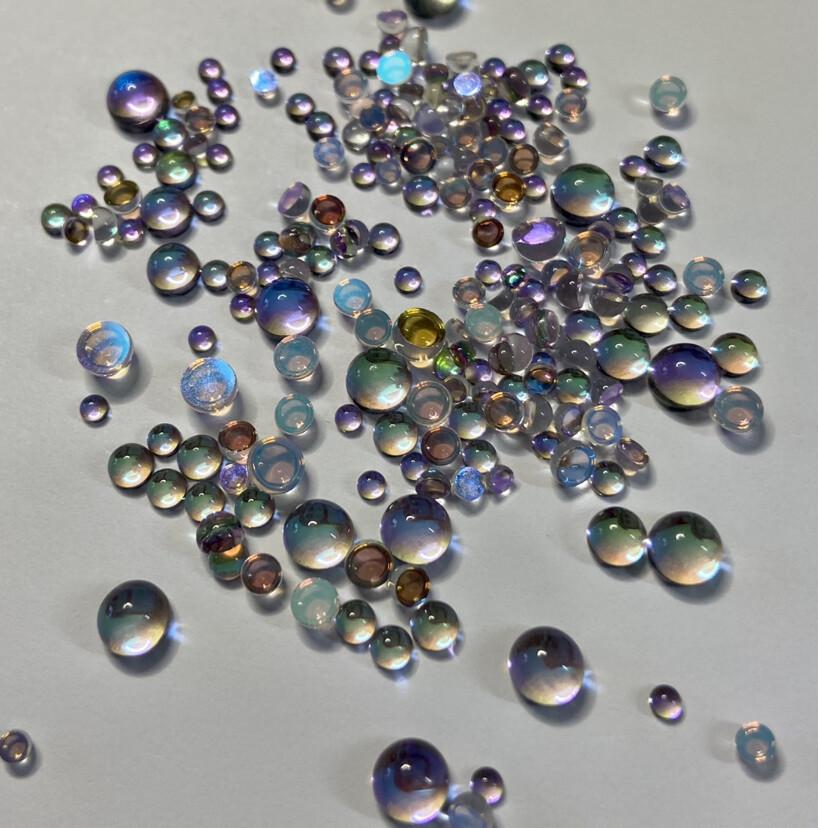 Mameido Bubble - Calypso - KiraKira Rhinestones by Crystal Ninja