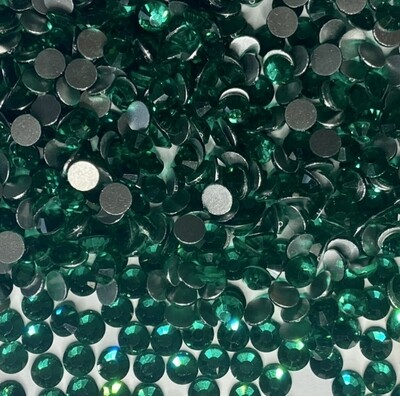 Green Zircon - KiraKira Glass Rhinestones by Crystal Ninja