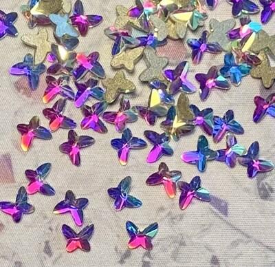KIRAKIRA - Clear AB Shapes - Butterfly