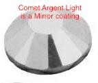 #2028 HF ss8 1440pc. CRYSTAL COMET ARGENT LIGHT