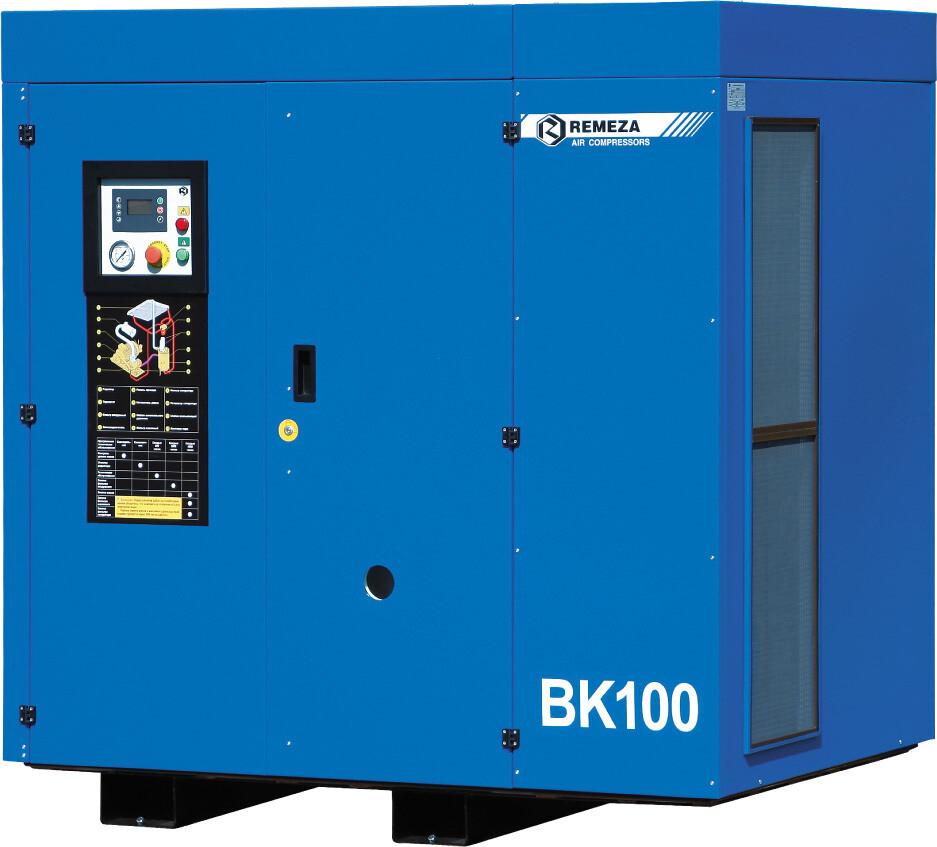 Винтовой компрессор Ремеза ВК100Т-8(10)