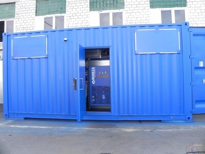 Модульная компрессорная станция Ремеза