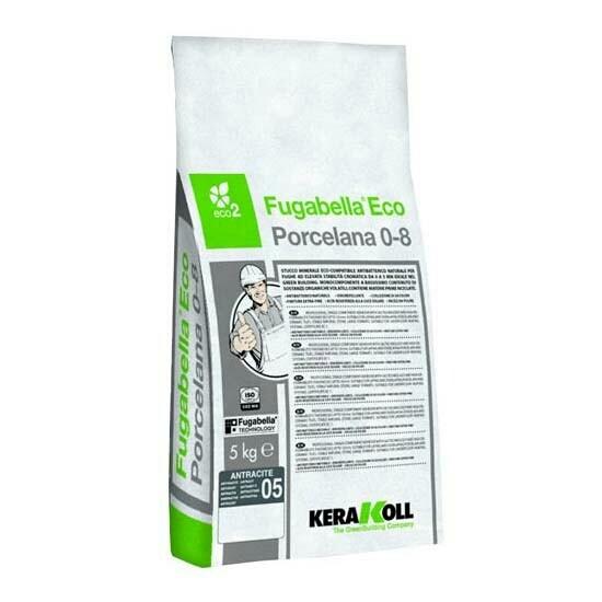 Цементная затирка Fugabella Eco Porcelana 0-8 KERAKOLL 5 кг