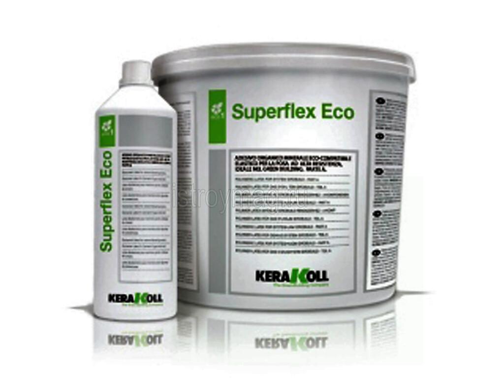 Клей для плитки полиуретановый SUPERFLEX ECO KERAKOLL (БЕЛЫЙ)