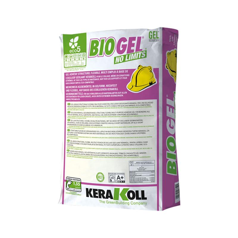 Клей для мрамора, керамогранита и мозайки BioGel No Limits KERAKOLL (БЕЛЫЙ)