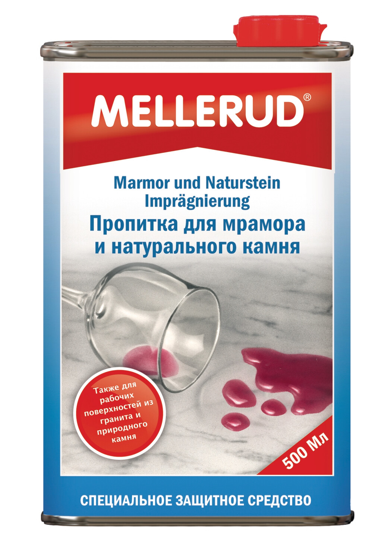 Пропитка для мрамора и натурального камня Mellerud