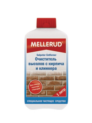 Очиститель  высолов с кирпича и клинкера Mellerud