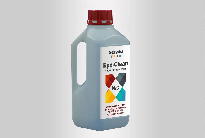 Чистящее средство от остатков эпоксидной затирки Epo-Clean №3 A-Crystal