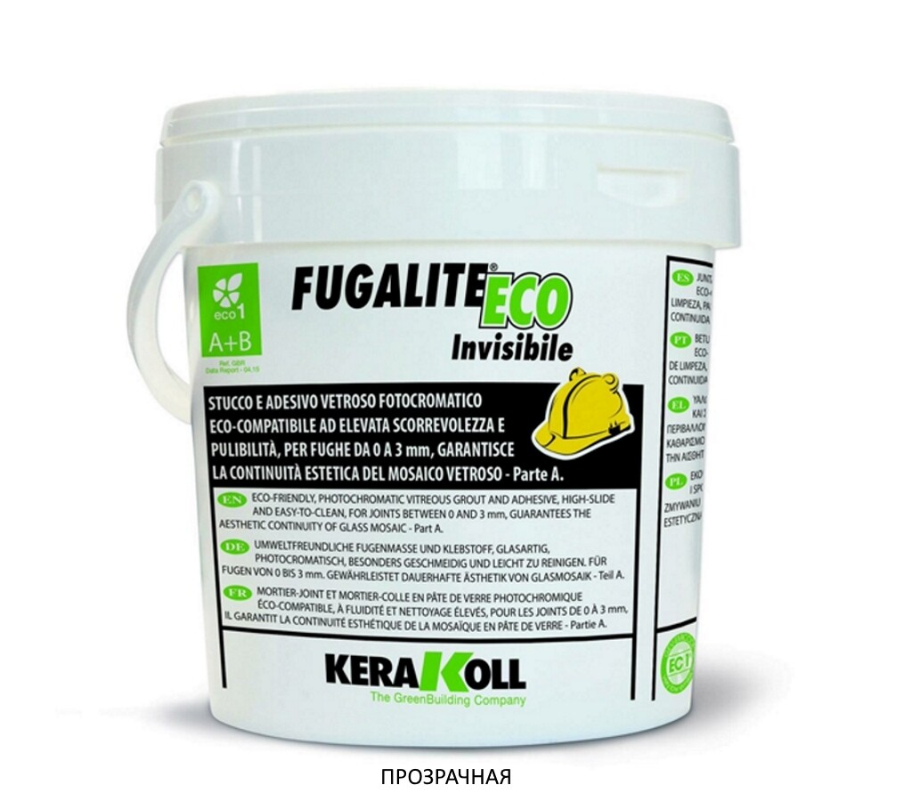 Fugalite ECO KERAKOLL Invisible Neutro (Прозрачная) эпоксидная затирка для швов