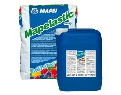 MAPEI MAPELASTIC Эластичная Гидроизоляция двухкомпонентная 32 кг (24+8)