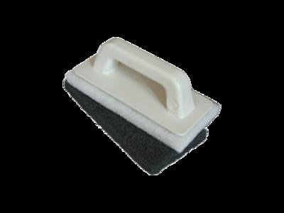 Набор MAPEI для очистки остатков затирки (Шпатель с липучками + два сменных блока черный и белый)