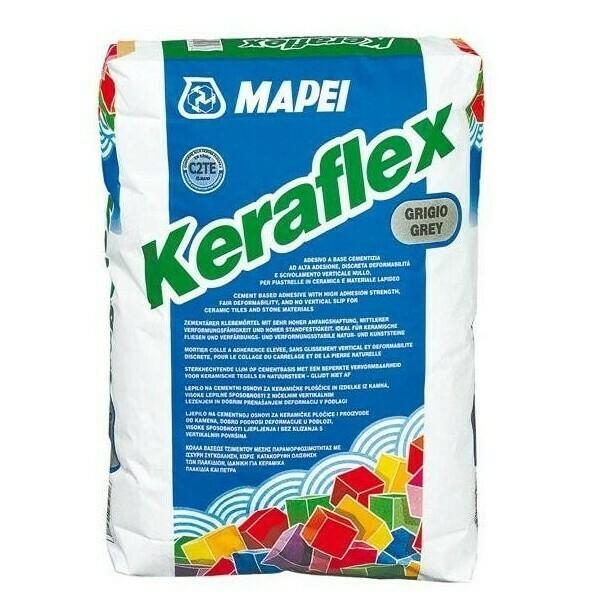 KERAFLEX MAPEI клей на цементной основе серый 25 кг