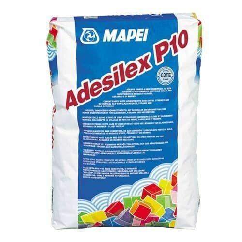 Клей ADESILEX P10 MAPEI высококачественный белый 25 кг