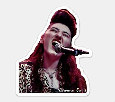 Veronica Lewis DIE-CUT Sticker