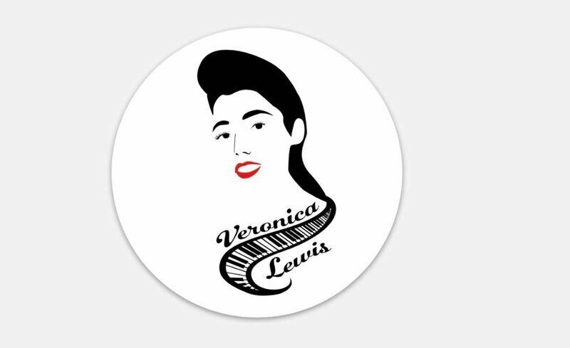 Veronica Lewis Round Sticker