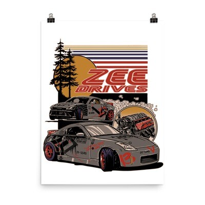 Full Color Zeedrives Poster