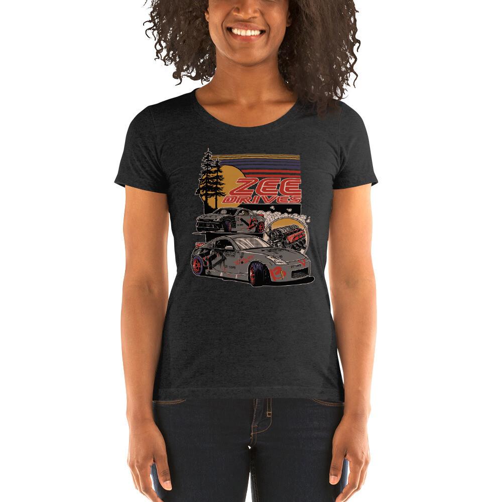 Women's full color Zeedrives shirt