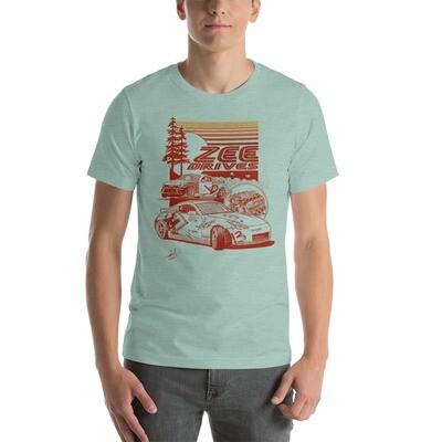 Unisex Sepia Zeedrives shirt