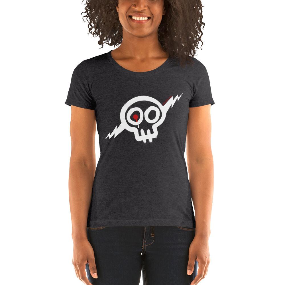 Women's white Skully t-shirt