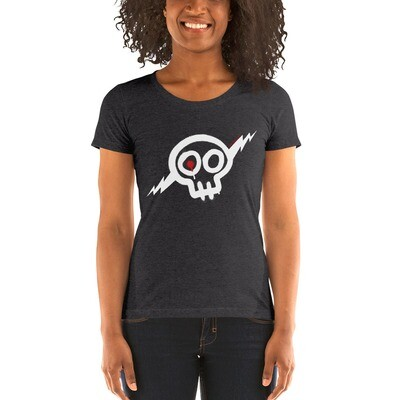Women's white Skully t-shirt