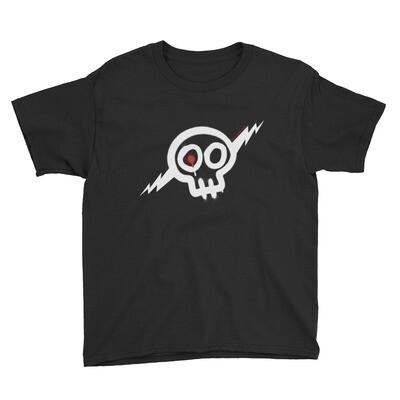 Kids' white Skully shirt