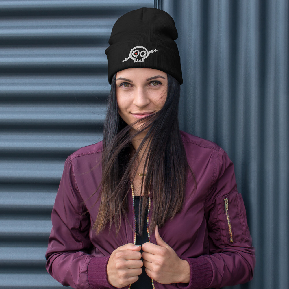 Skully Beanie Toque - Embroidered