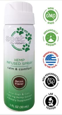 Bacon Flavor Hemp-Derived CBD Oil 1 oz Spray