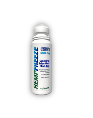 HEMPFREEZE Cooling Pain Relief 2.5 oz. Roll-On