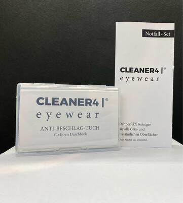 Cleaner4 Eyewear Antibeschlagset